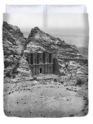 Petra, Jordan Duvet Cover