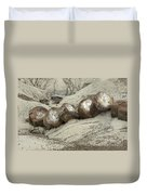 Petrified Forest 1 Duvet Cover