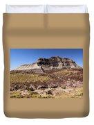 Petrified Forest Badlands Duvet Cover