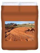 Petrified Sand Dunes - Snow Canyon Utah  Duvet Cover