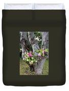 Petunia Tree Duvet Cover