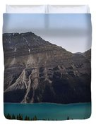 Peyto Lake - Canadian Rocky Mountains Duvet Cover