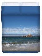 Pfeiffer Beach Duvet Cover
