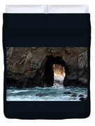 Pfeiffer Rock Big Sur Duvet Cover