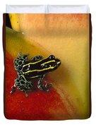 Phantasmal Poison Dart Frog Duvet Cover