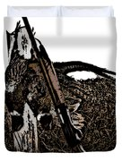 Pheasant Hunt Duvet Cover