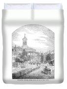 Philadelphia, 1854 Duvet Cover