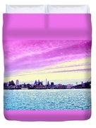 Philadelphia Morning View Duvet Cover