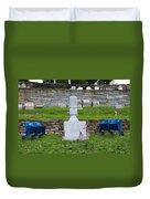 Phillies Harry Kalas' Grave Duvet Cover