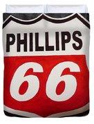 Phillips 66 Duvet Cover