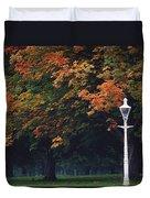 Phoenix Park, Dublin, Co Dublin Duvet Cover