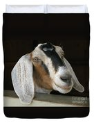 Photogenic Goat Duvet Cover