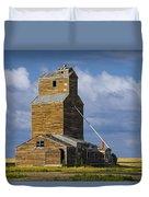 Photograph Of A  Prairie Barn Duvet Cover