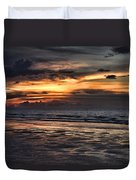Photographing Sunsets Duvet Cover