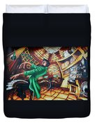 Piano Man Duvet Cover