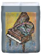 Piano Study 2 Duvet Cover