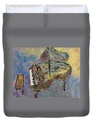 Piano Study 3 Duvet Cover