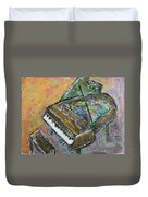 Piano Study 4 Duvet Cover