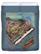 Piano Study 7 Duvet Cover
