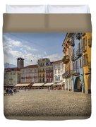 Piazza Grande - Locarno Duvet Cover