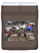 Piccadilly Circus - London Duvet Cover