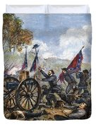 Picketts Charge, 1863 Duvet Cover