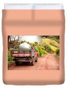 Pickup Truck Duvet Cover