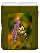 Picky Monarch Duvet Cover