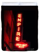 Picture Of Empire Tavern And Liquors Sign Fargo Nd Duvet Cover