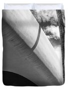 Piece Of The Sky  Bw Duvet Cover