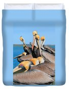 Pier Party Duvet Cover