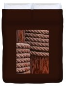 Pier Ropes II Duvet Cover
