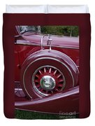 Pierce Arrow Fender Duvet Cover