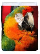 Pietro The Parrot Duvet Cover