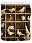 Pigeon Holed Duvet Cover
