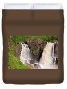 Pigeon River Duvet Cover