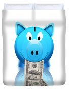 Piggy Bank Duvet Cover