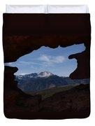 Pikes Peak 2012 Duvet Cover