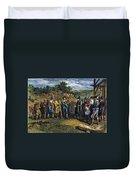 Pilgrims: Massasoit Duvet Cover