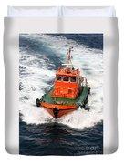 Pilot Boat - Dardanelles-canakkale Duvet Cover