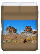 Pilot Butte Rock Formation Iv Duvet Cover