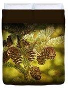 Pine Cones No.056 Duvet Cover