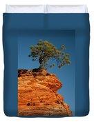 Pine On Rock Duvet Cover