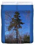 Pine Tree Standing Tall Duvet Cover