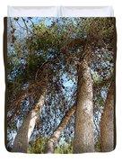 Pine Trees Duvet Cover
