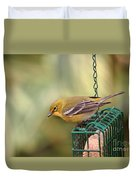 Pine Warbler 3 Duvet Cover