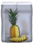 Pineapple Delight Duvet Cover