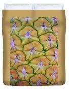 Pineapple Eyes Duvet Cover