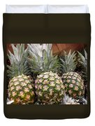 Pineapples Duvet Cover by Methune Hively
