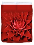 Pingwing Bromeliad Aechmea Magdalenae Duvet Cover